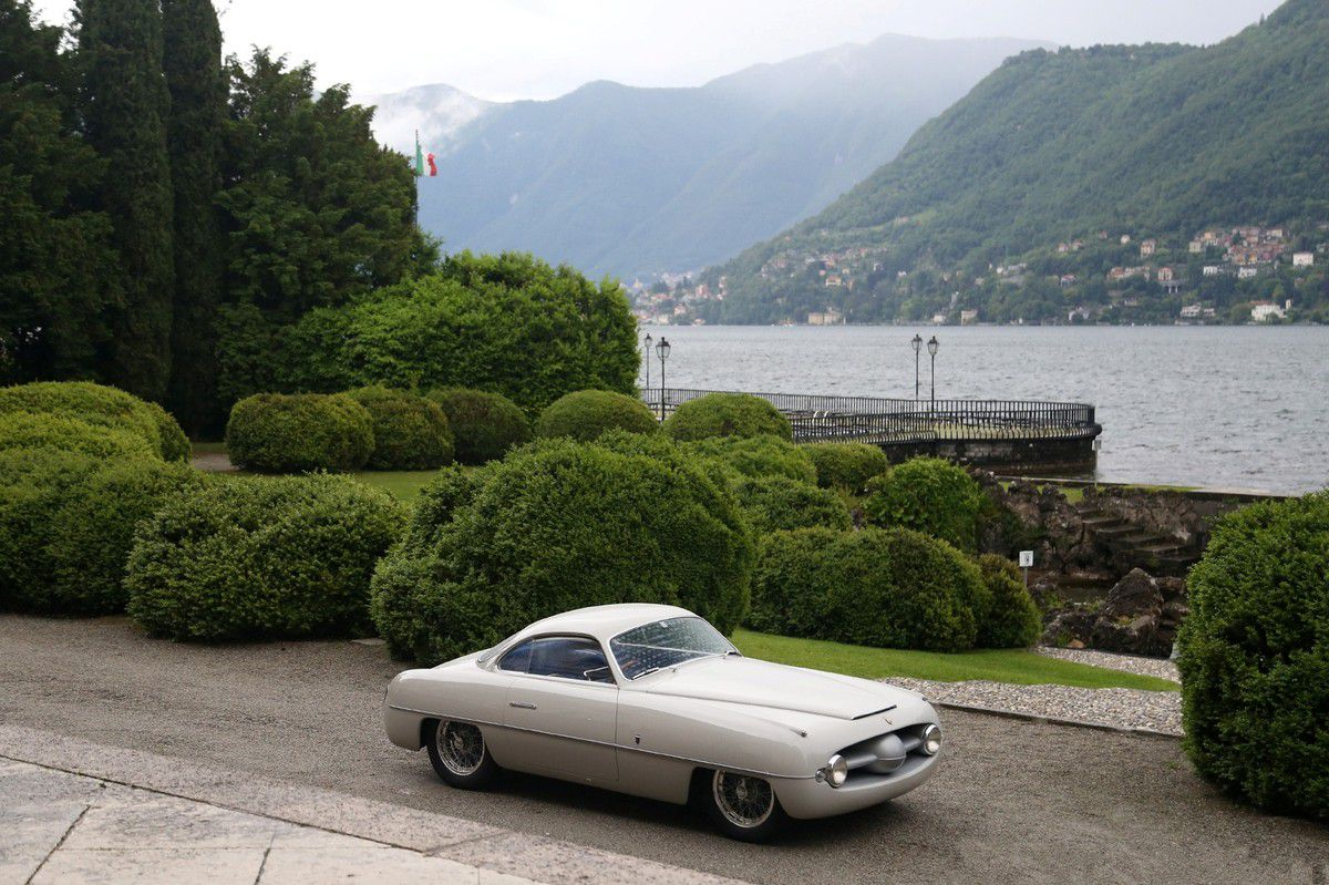 VOITURES DE LEGENDE (1075) : ABARTH  205 GHIA BERLINETTA - 1953