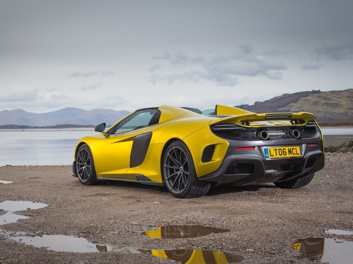 VOITURES DE LEGENDE (1094) : McLAREN  675 LT SPIDER - 2016