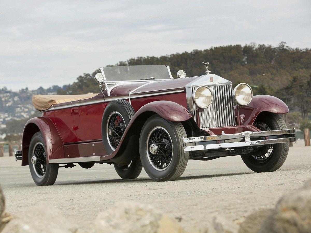 VOITURES DE LEGENDE (1095) : ROLLS-ROYCE  PHANTOM I  BREWSTER ASCOT TOURER - 1929