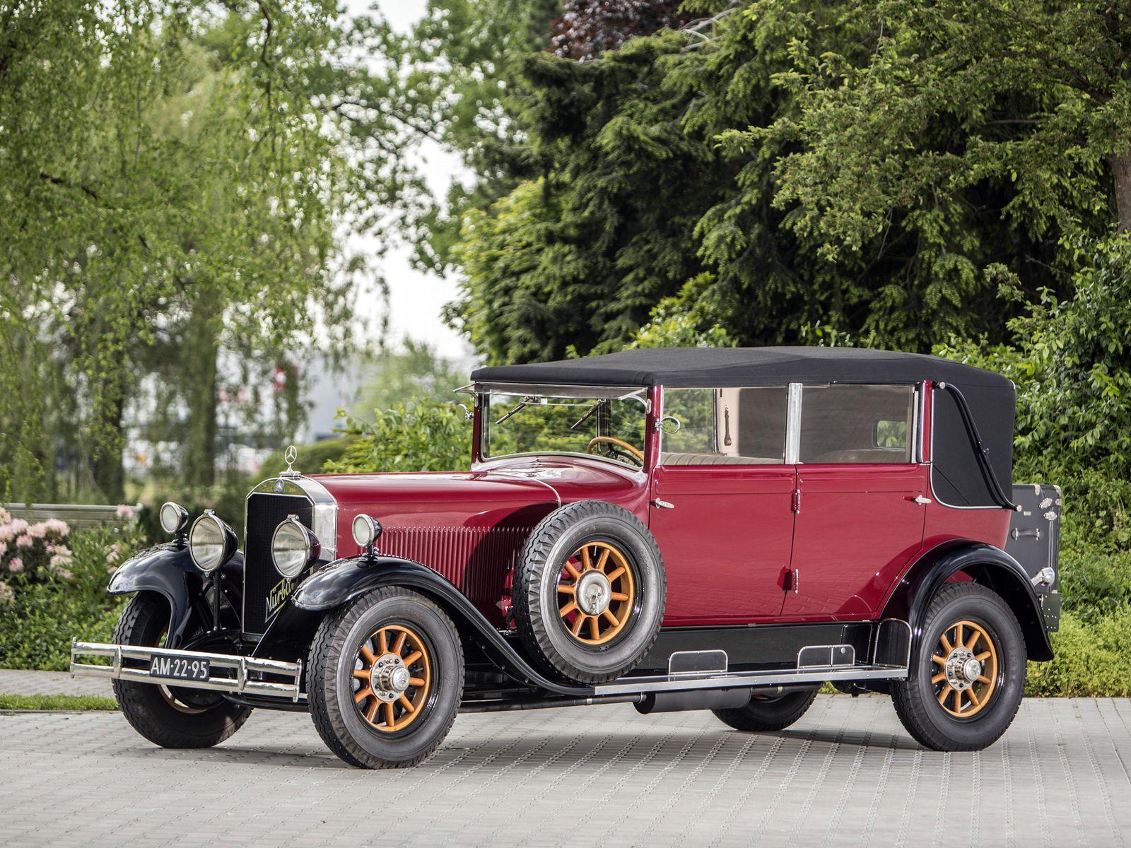 VOITURES DE LEGENDE (1130) : MERCEDES-BENZ  TYP NÜRBURG 460K (W08)  CABRIOLET D - 1928