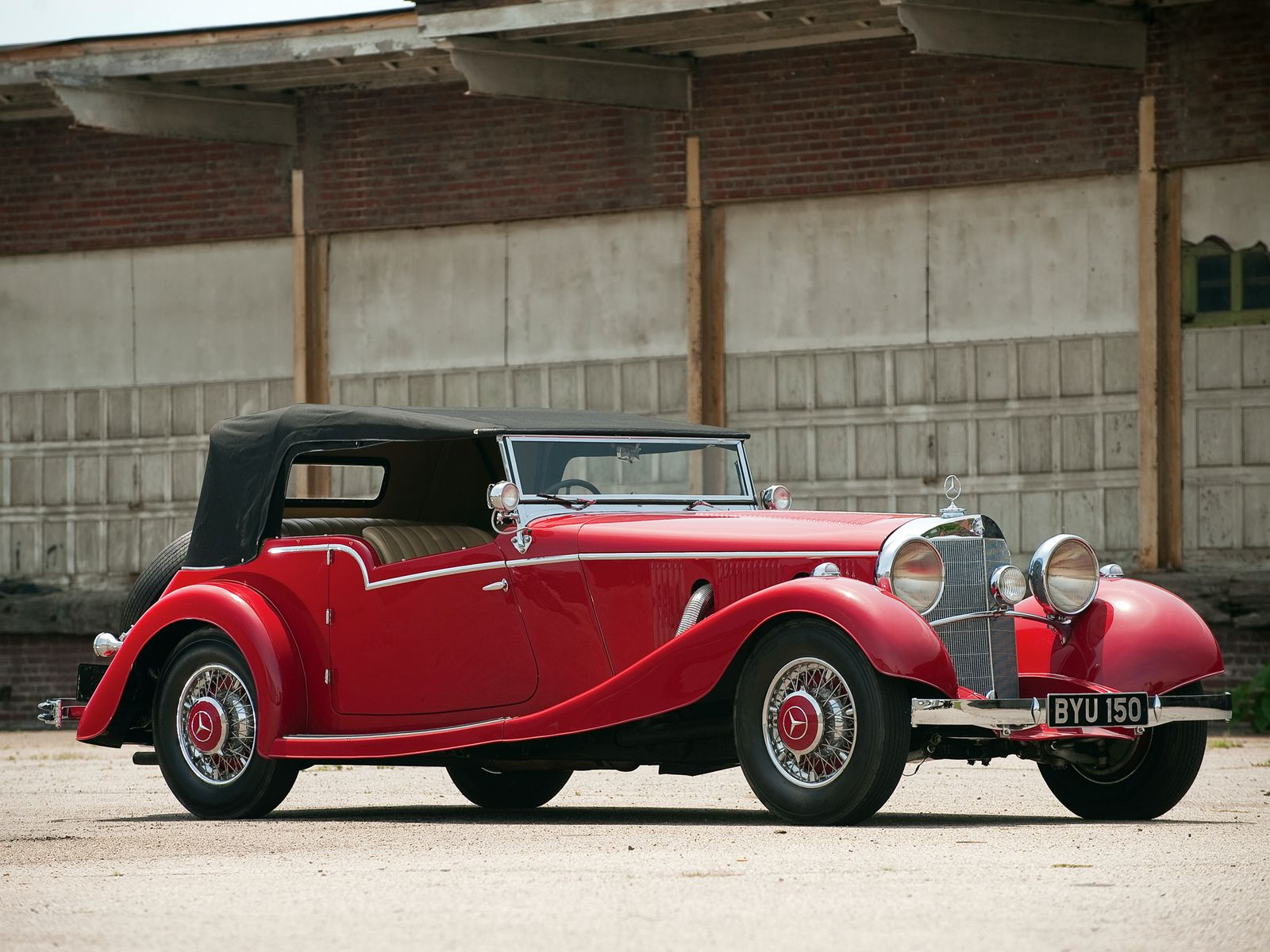 VOITURES DE LEGENDE (1132) : MERCEDES-BENZ  500 K (W29) By MAYFAIR - 1934