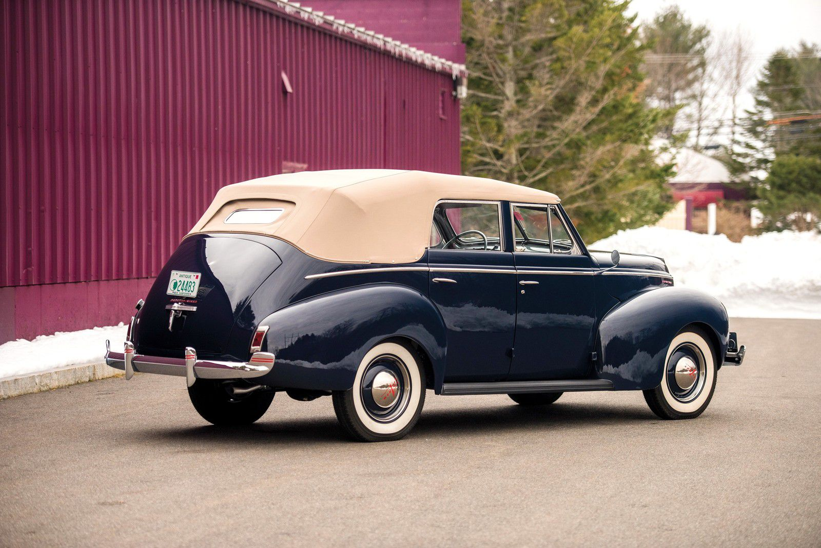 VOITURES DE LEGENDE (1135) : MERCURY EIGHT  CONVERTIBLE SEDAN - 1940