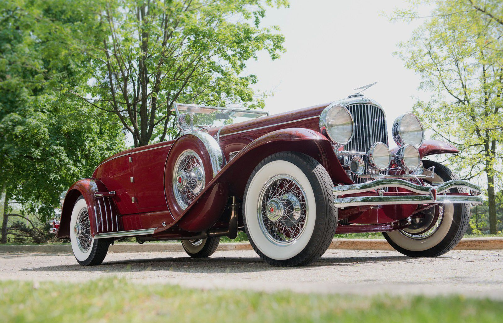 VOITURES DE LEGENDE (1144) : DUESENBERG  MODEL SJ  MURPHY CONVERTIBLE COUPE SWB - 1931