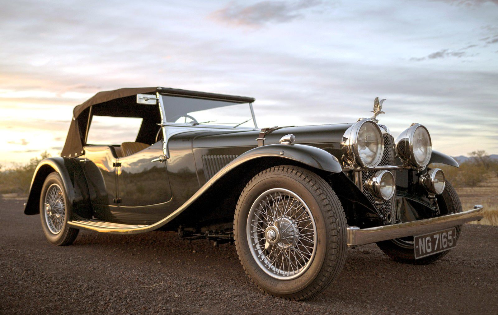 "VOITURES DE LEGENDE (1156) : ALVIS  SPEED 20 ""SB"" CROSS & ELLIS TOURER - 1933"