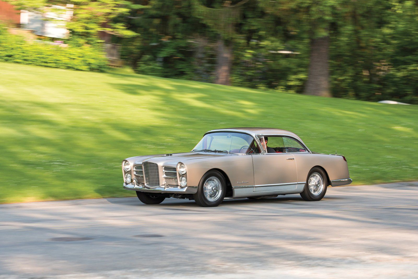 "VOITURES DE LEGENDE (1168) : FACEL-VEGA  FV4  ""TYPHOON"" - 1957"