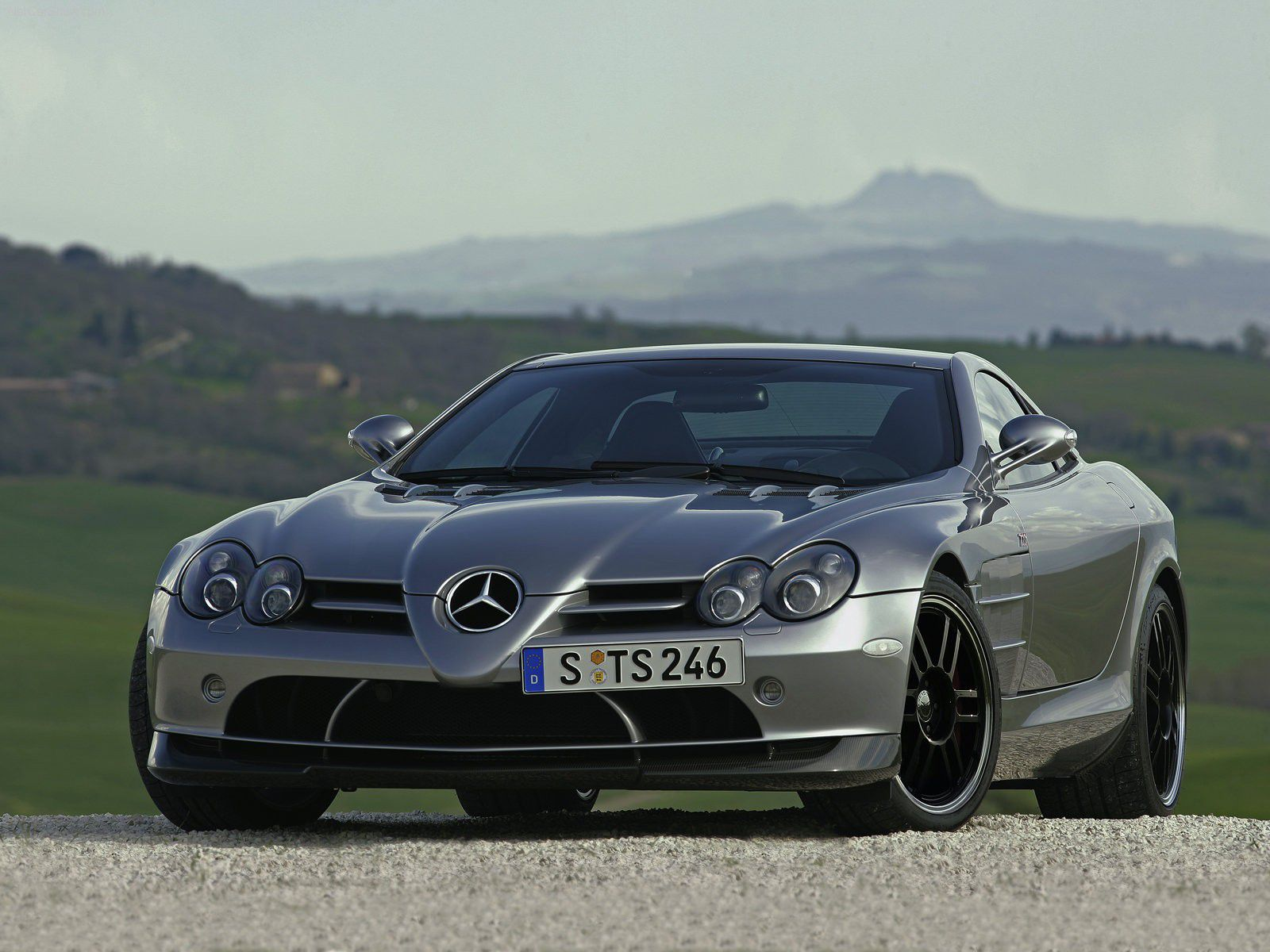 "VOITURES DE LEGENDE (1175) : MERCEDES-BENZ  SLR McLAREN  ""722 EDITION"" - 2007"