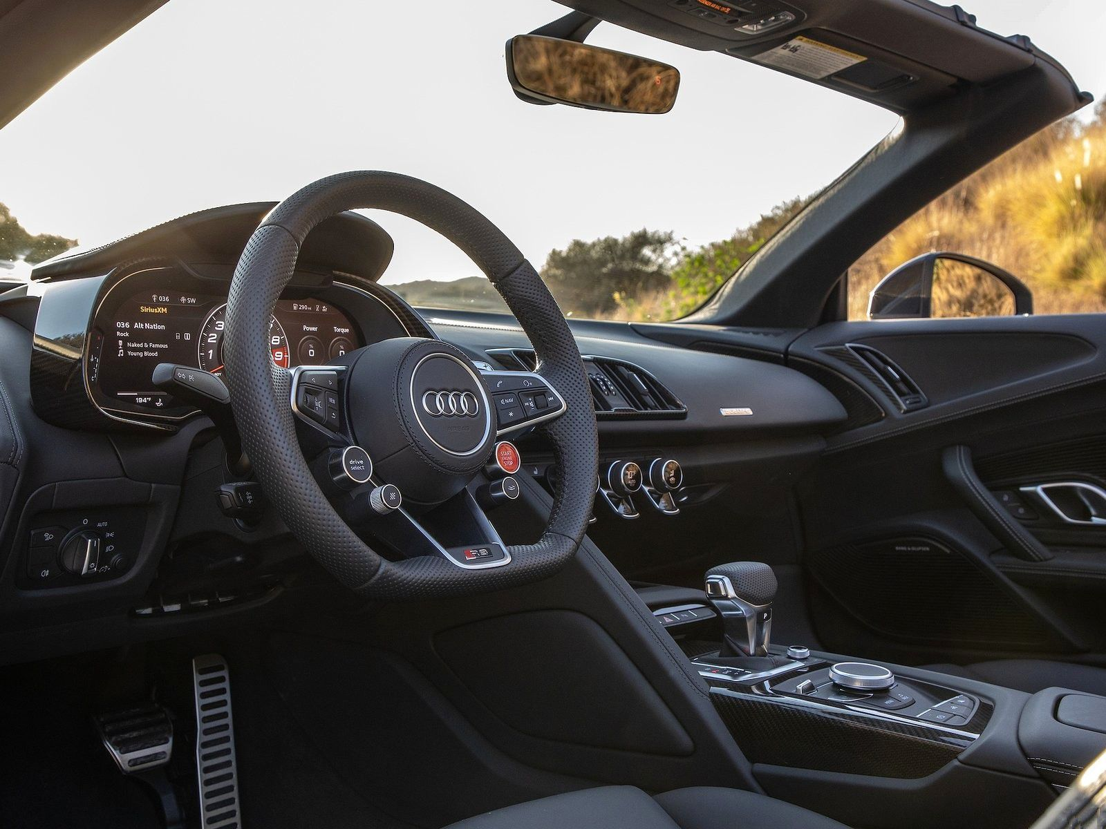 VOITURES DE LEGENDE (1180) : AUDI  R8 SPYDER VERSION USA - 2020
