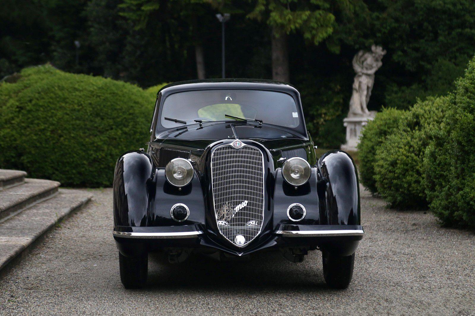VOITURES DE LEGENDE (1191) : ALFA-ROMEO  8C 2900B TOURING BERLINETTA - 1937