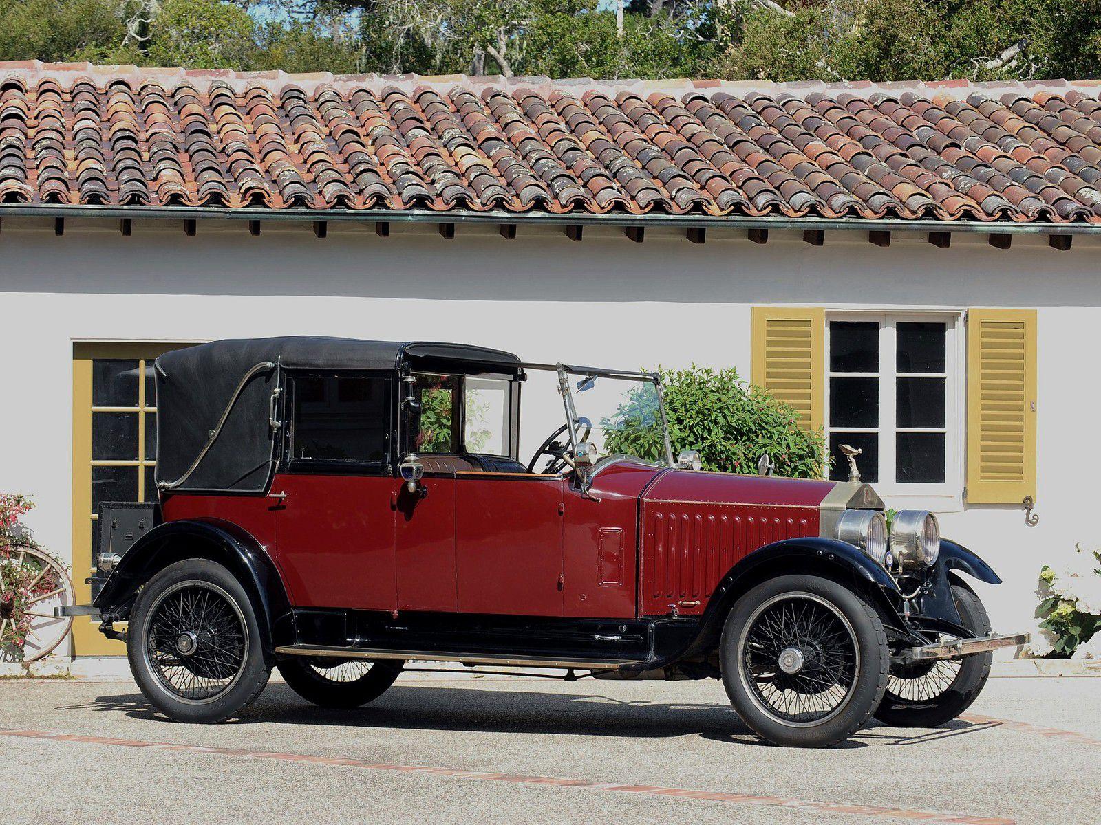 VOITURES DE LEGENDE (1193) : ROLLS-ROYCE  20 HP  SALAMANKA By KELLNER & Cie - 1925
