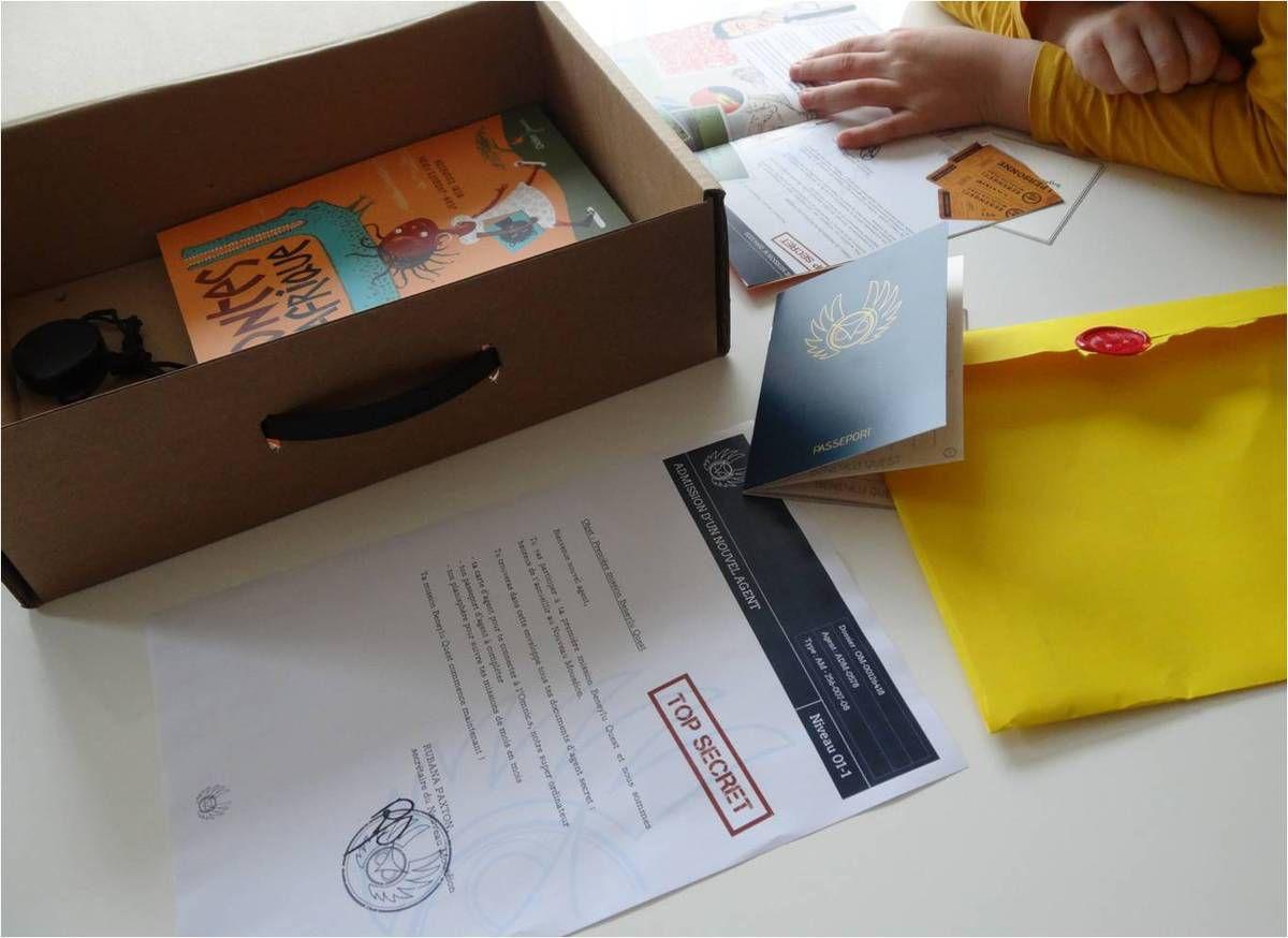 Plus qu'une box livres, une mission d'Agent Secret : Beneylu Quest !