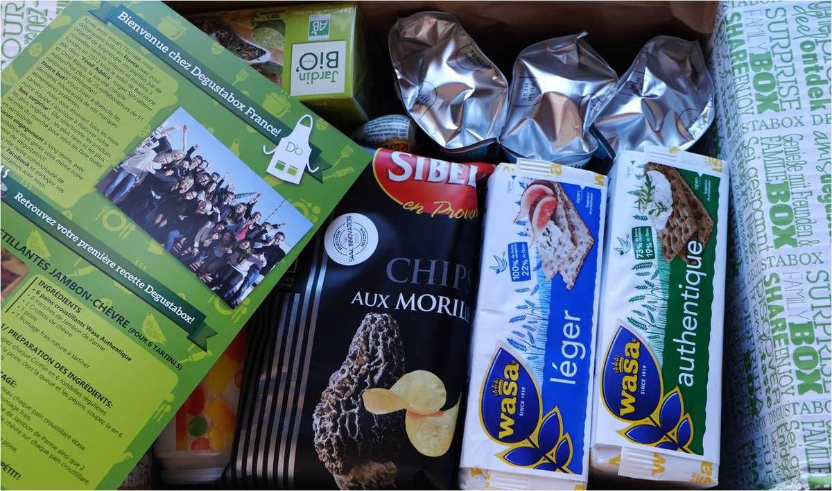 Une nouvelle box food : la Dégustabox !