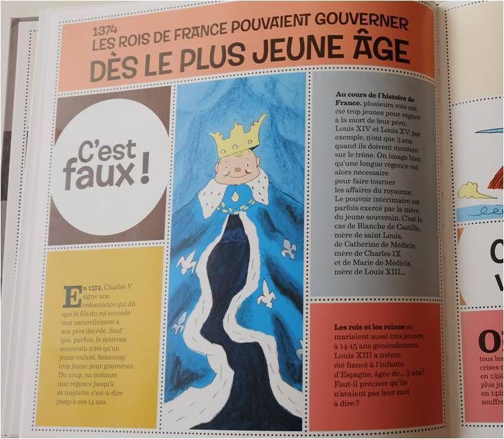 Les Rois de France pouvaient régner à partir de 14 ans, avant il y avait une régence !
