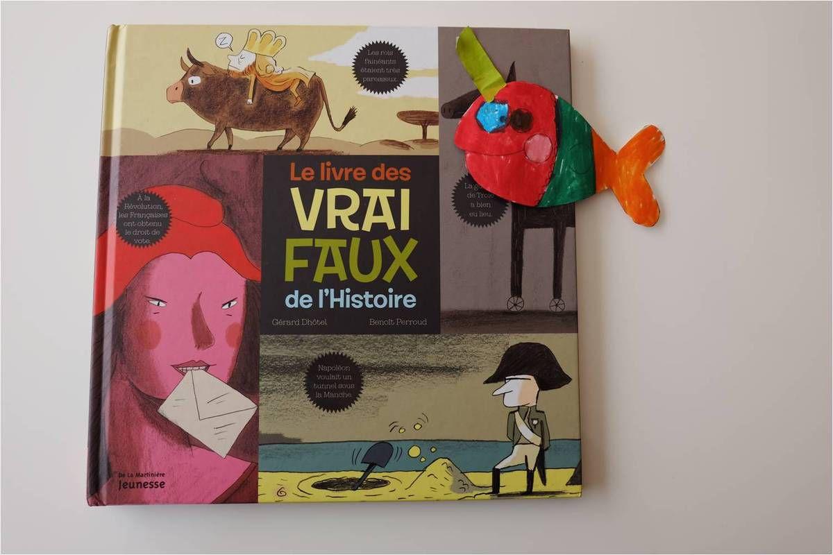 Un livre d'Histoire pour rigoler, ce n'est pas un poisson !