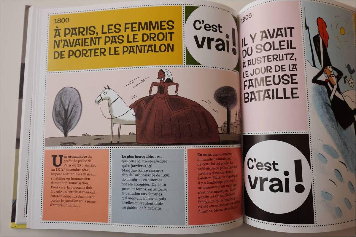 A Paris, il fallait un certificat médical pour qu'une femme ait le droit de porter un pantalon ! Cette loi n'a été abrogée qu'en 2013 même si elle n'était heureusement plus appliquée depuis longtemps !