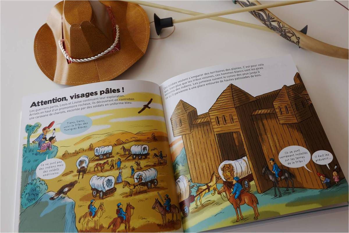 Lectures de cow-boys et d'indiens !