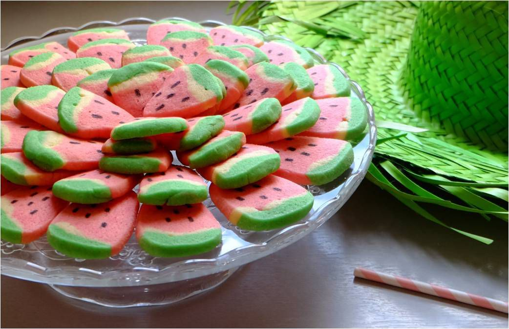🍉 Sablés Pastèque 🍉 home made with love by kids !