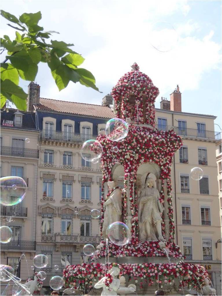 Le Festival Mondial des Roses à Lyon