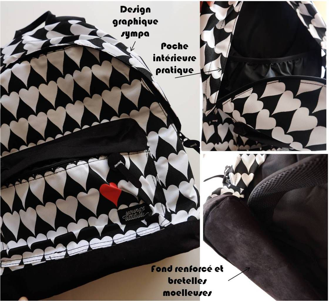 A à peine 12,99 € ce sac à dos fait super bonne impression !