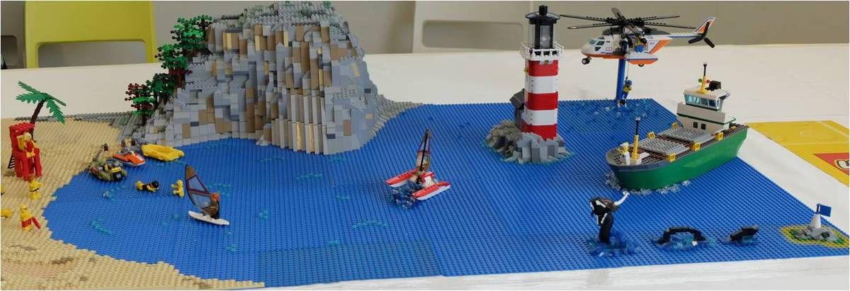 Le monstre du Loch Ness exitse... en Lego !