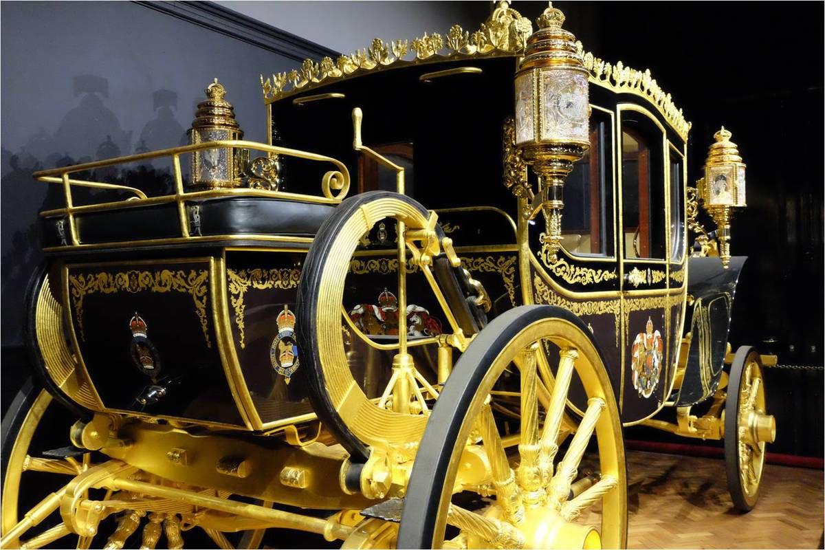 L'incroyable carrosse du Jubilé de Diamant visible au Royal Mews