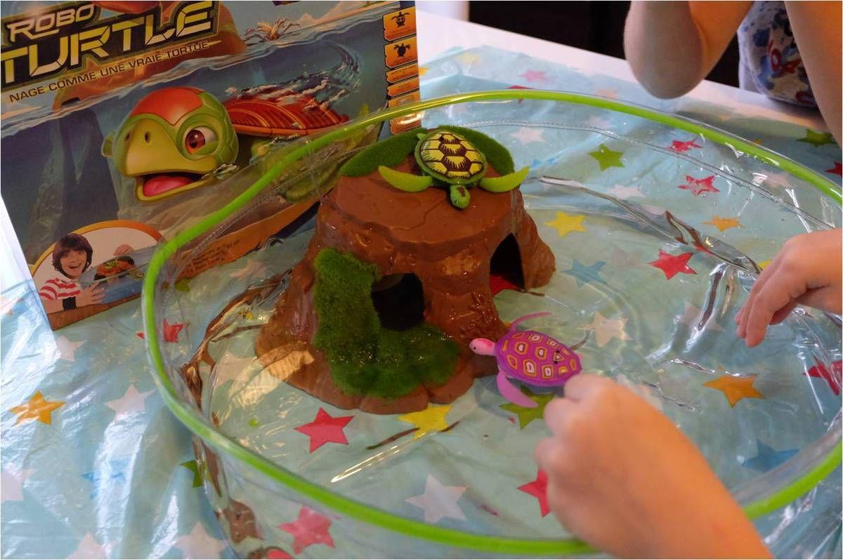 Et maintenant les Robo Turtle !