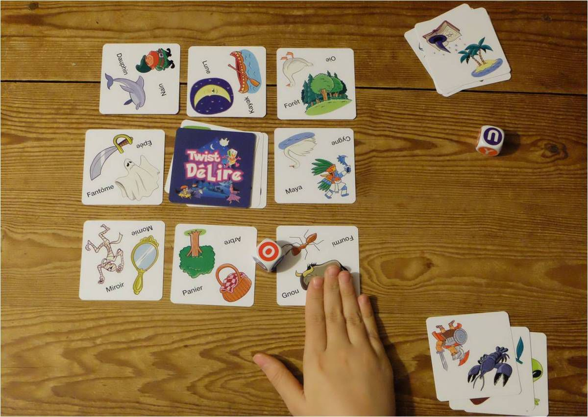 Twist Délire, un jeu éducatif sur les mots, vraiment drôle !