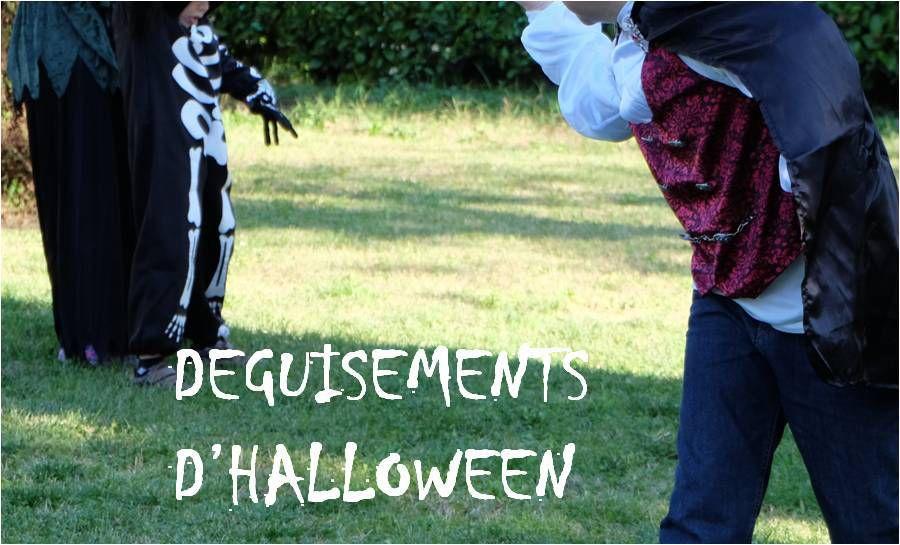 Les déguisements d'Halloween 🎃