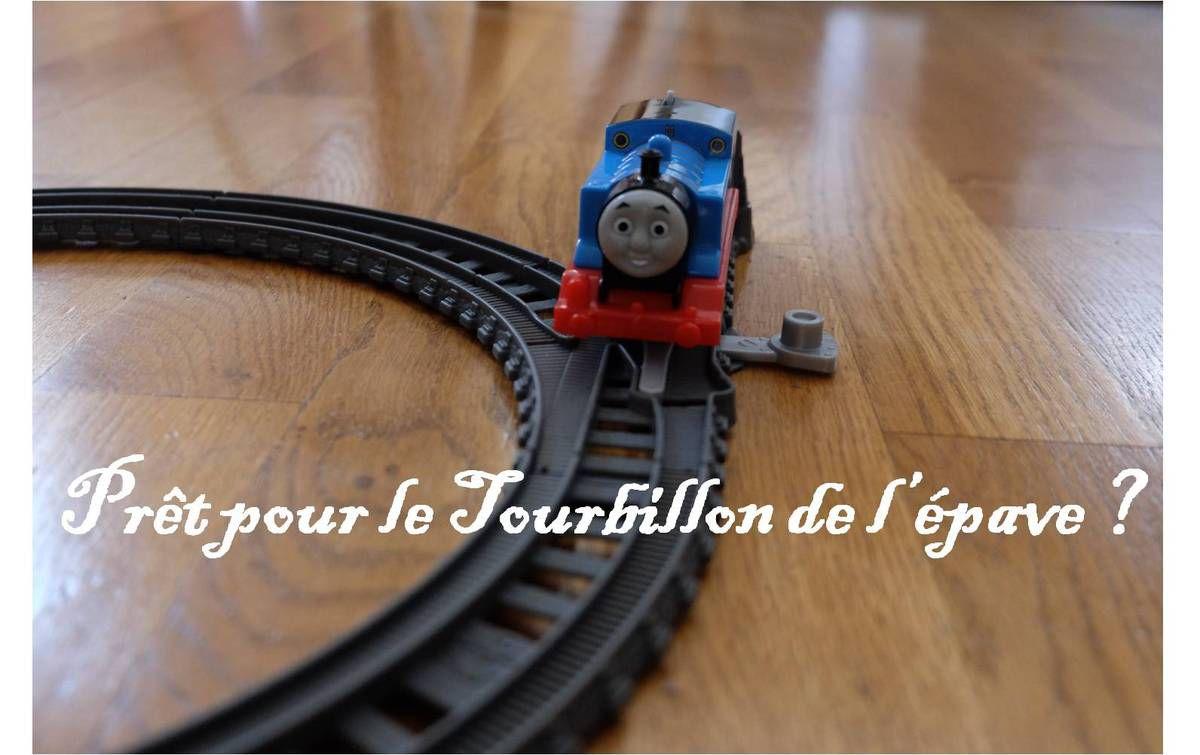 Thomas le train, un circuit renversant ! {Fisher-Price}