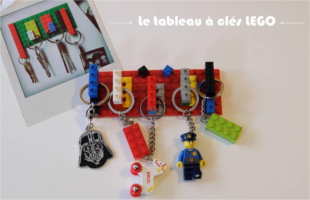 Un tableau à clés LEGO, DIY vite fait !