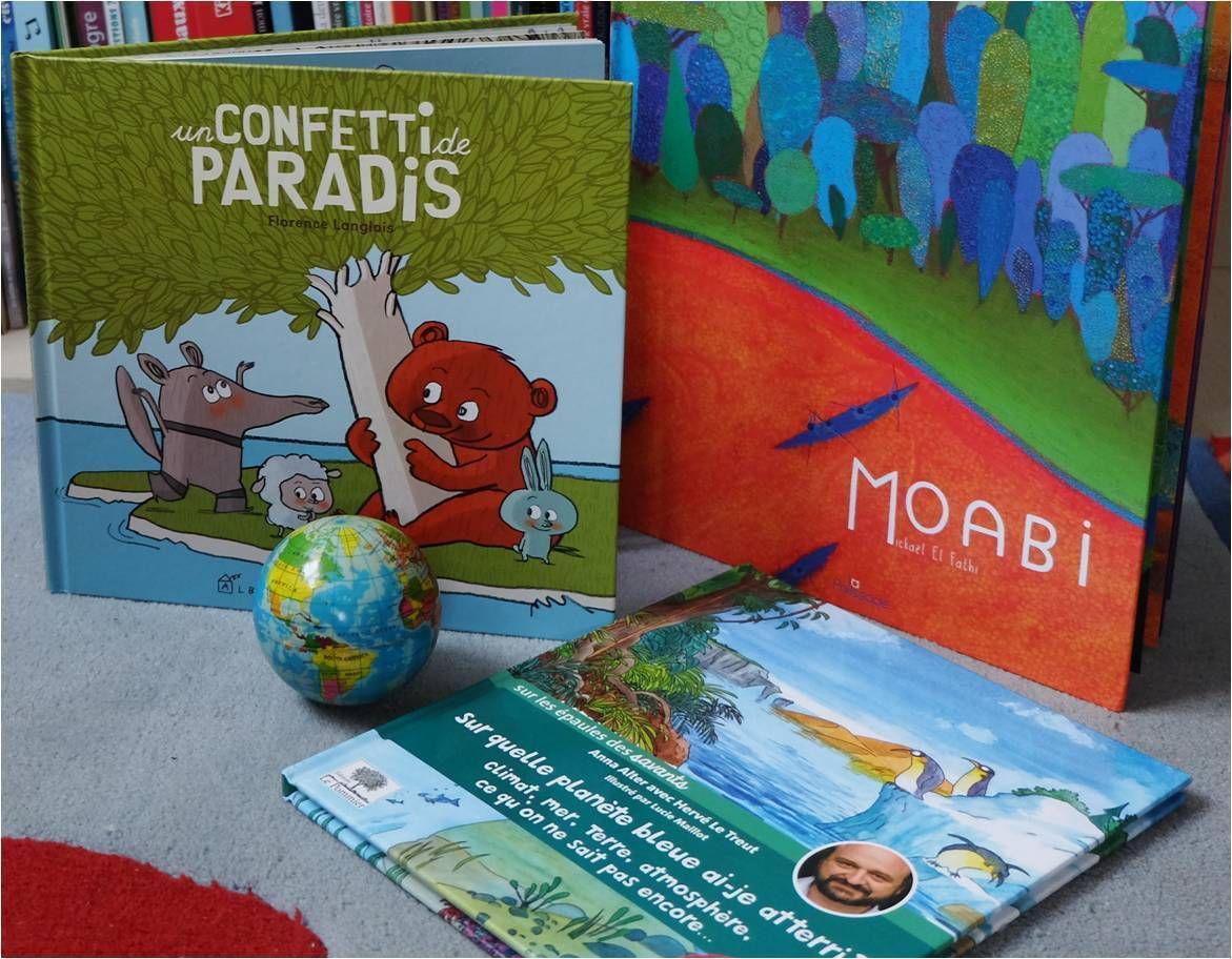 Des lectures pour protéger la planète ! 🌏