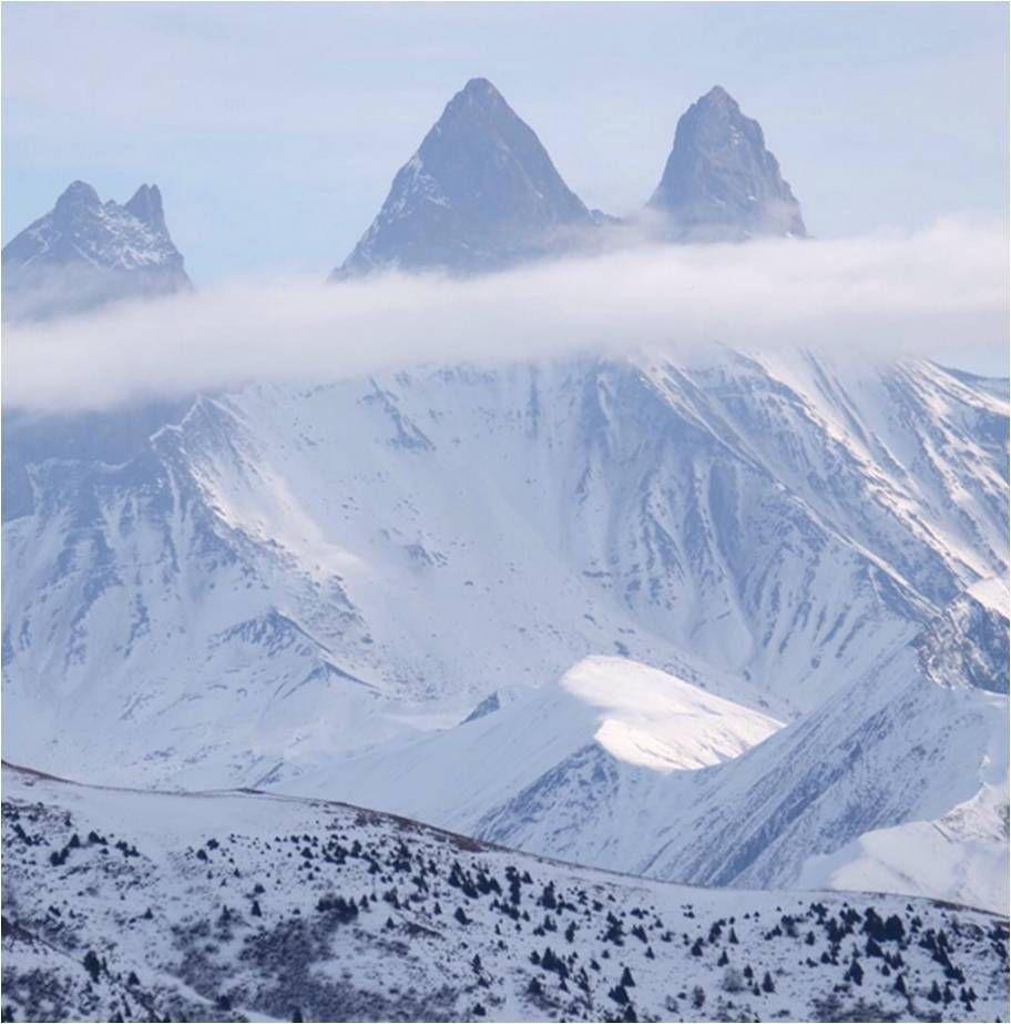 Dans la série je vois des ❤️ partout, ce beau cadeau de la montagne après 3 h de rando.