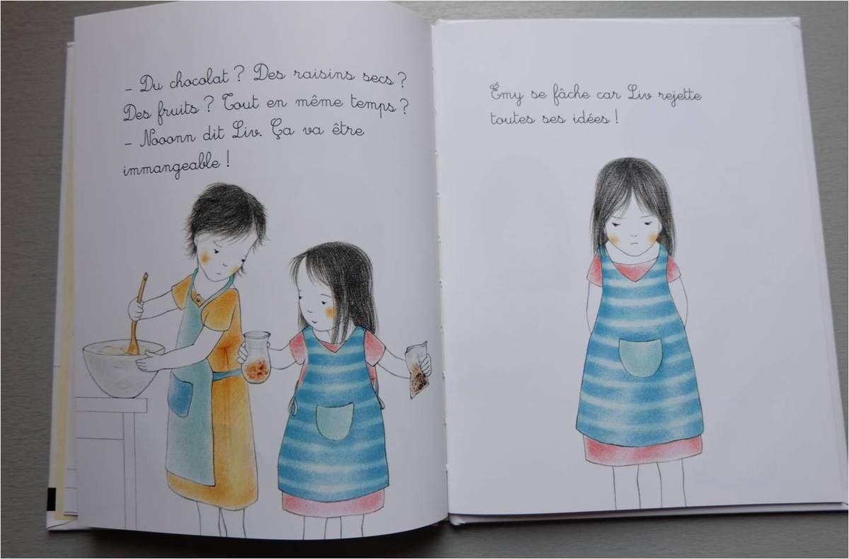 Extrait de Mes petites histoires Montessori Le goûter