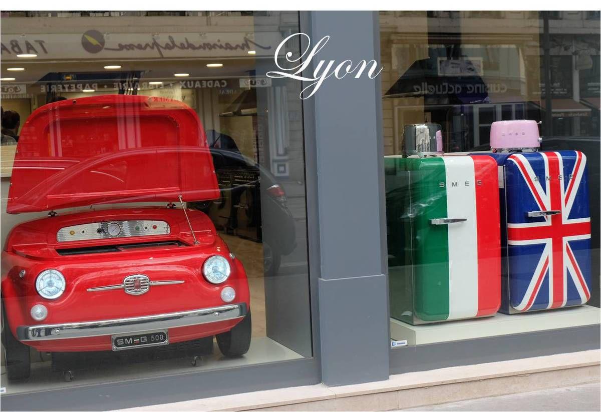 SMEG ouvre sa boutique à Lyon 🍝