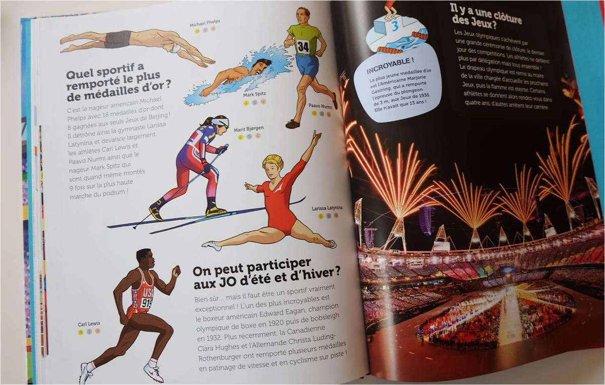 Euro, JO, nos lectures sport ! ⚽ 🏊