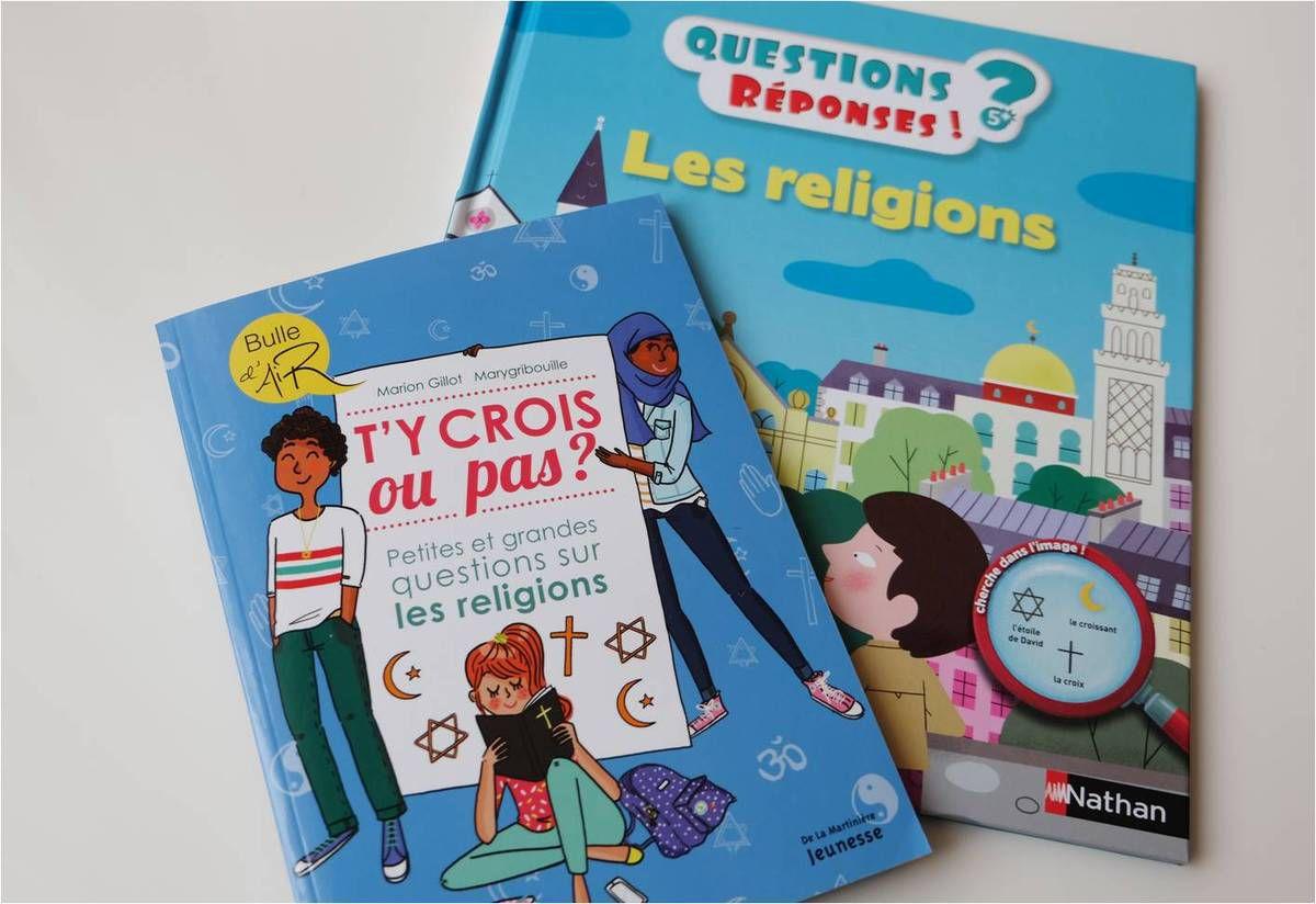 Des livres pour parler de religions aux enfants