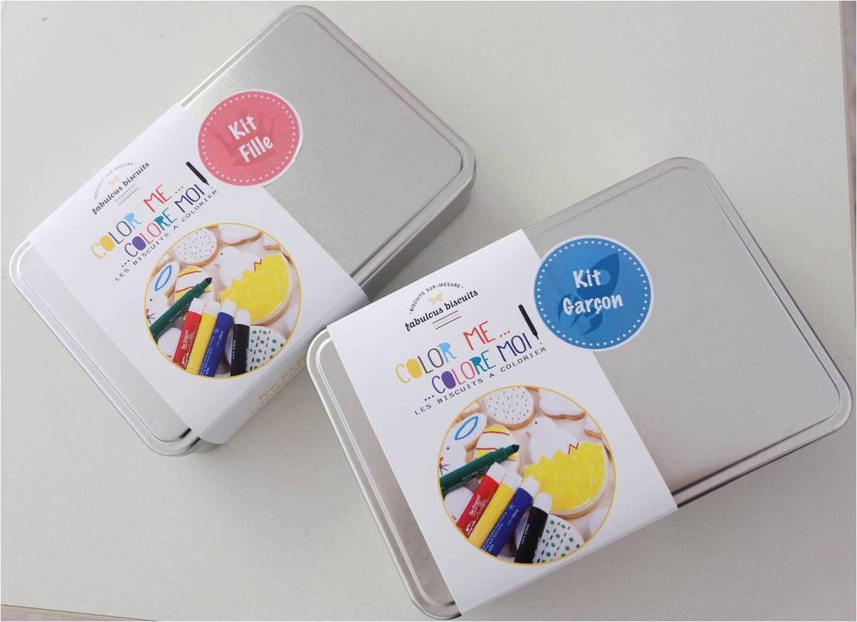 Fabulous Biscuits : des biscuits à colorier pour les enfants !