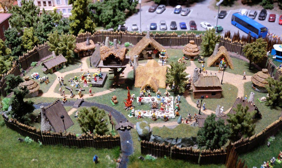 Mini World a aussi son Parc Astérix !
