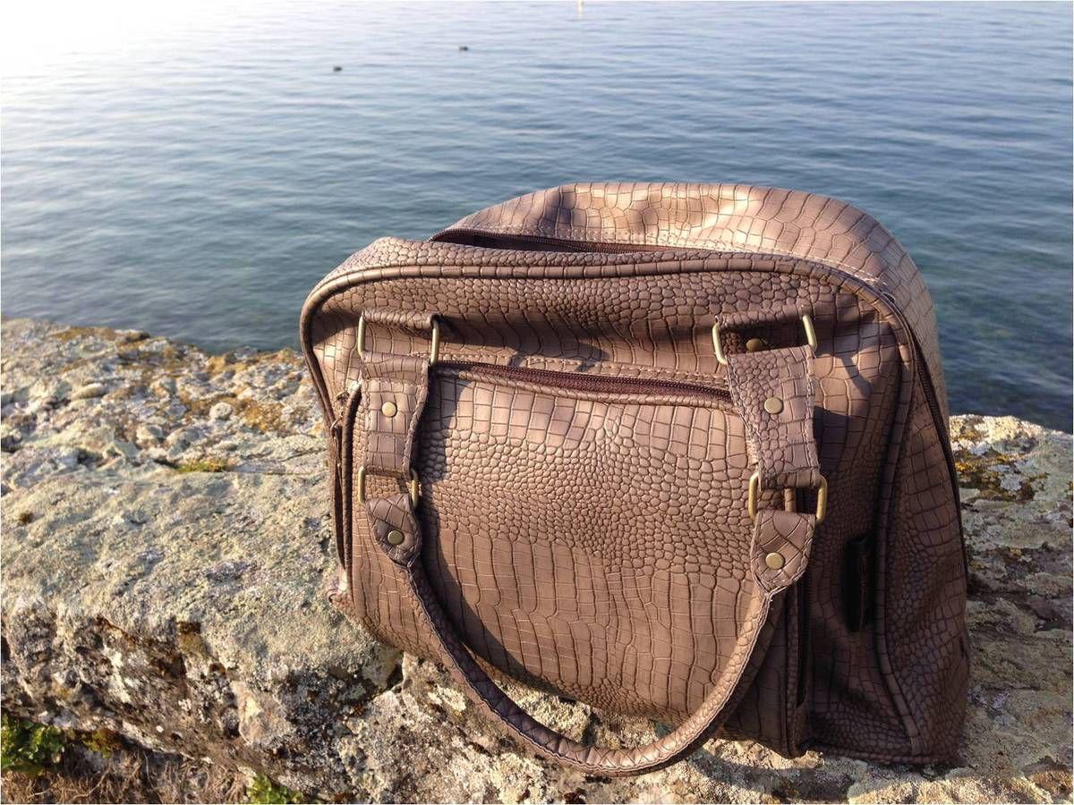 A une époque pas si lointaine, mon sac à main était un sac à langer !