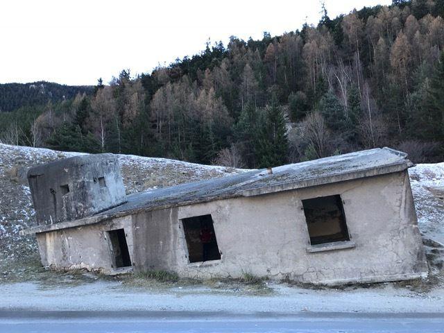 La maison penchée à Modane