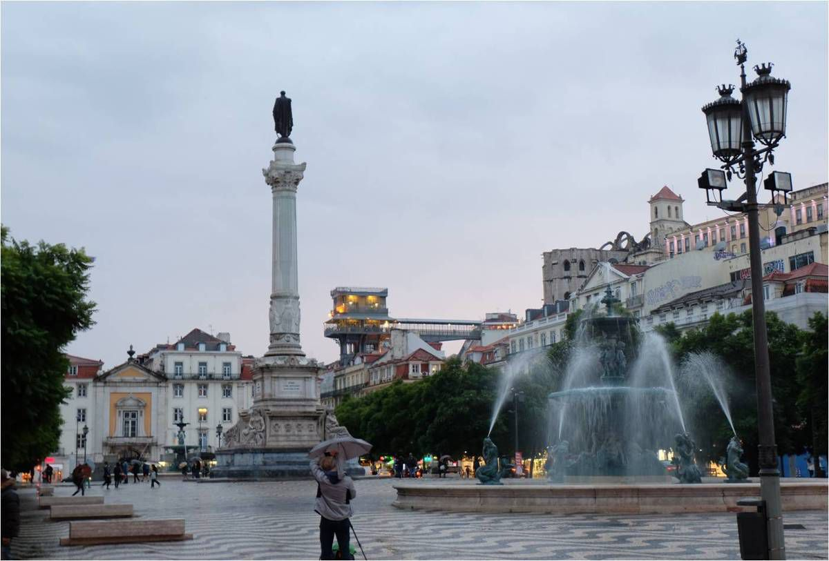 Rossio, place Don Pedro IV