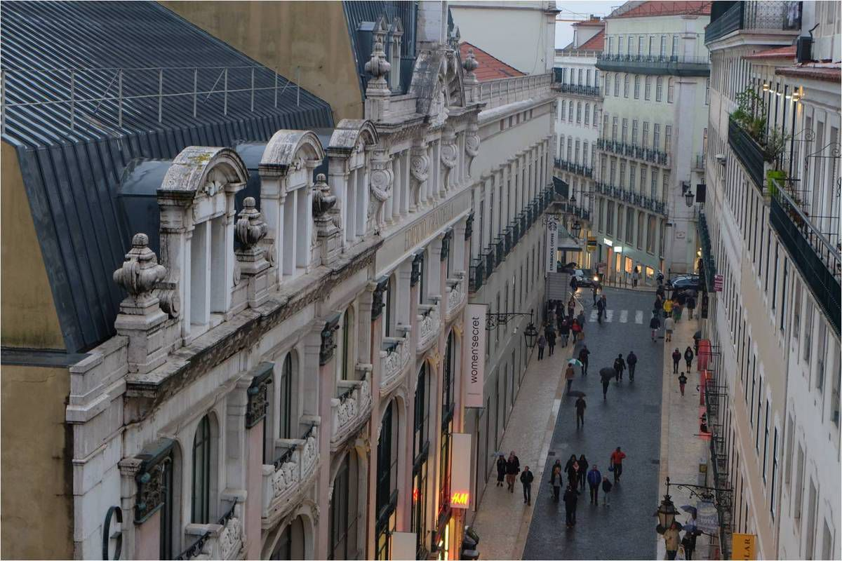 Admirer les façades d'en haut !