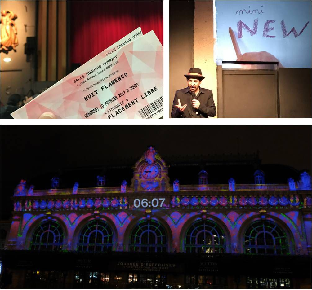 1 week-end, 3 spectacles !