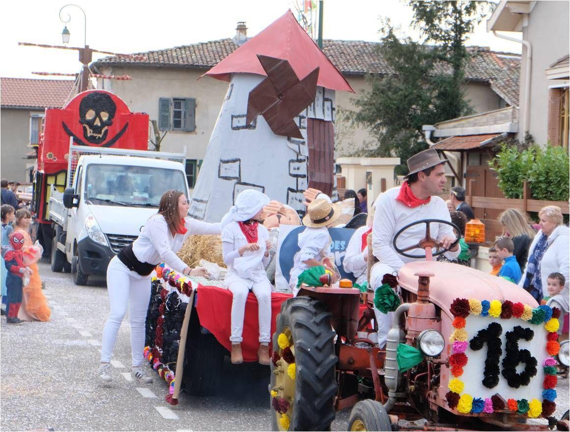 Dimanche au carnaval de Saint-Pierre de Chandieu 🎉