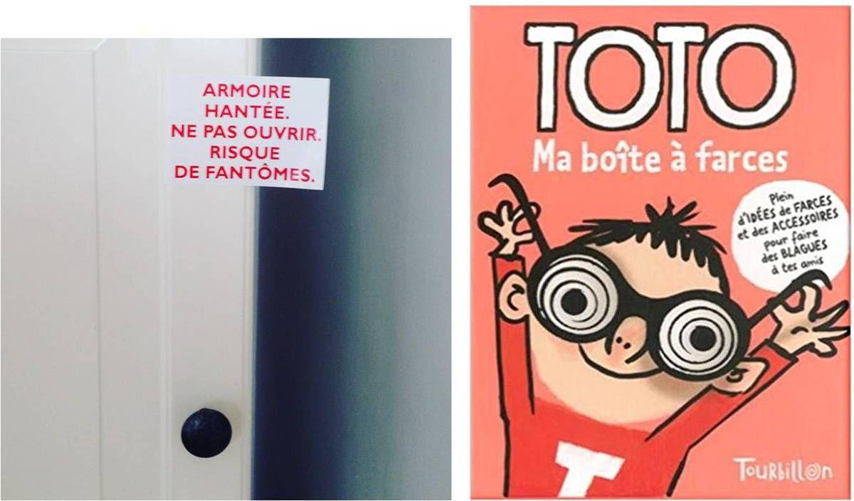 Stickers enfants pour faire des blagues !