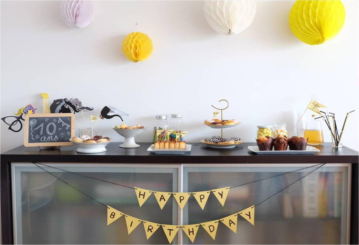 Un goûter d'anniversaire avec Carrefour Traiteur