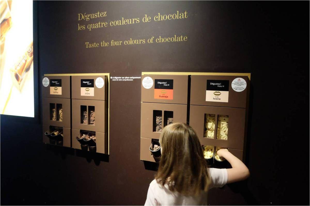 Cité du chocolat Valrhona avec les enfants !