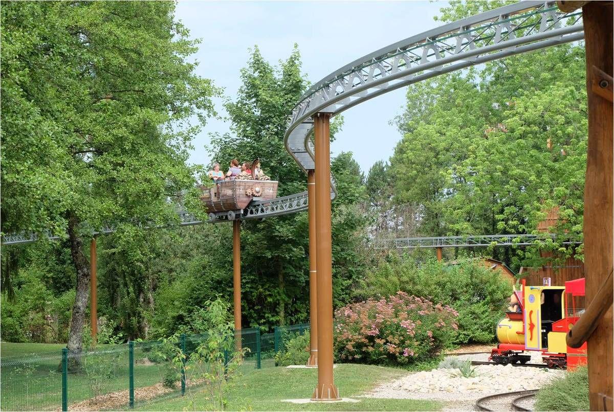 La nouvelle attraction familiale Monorail