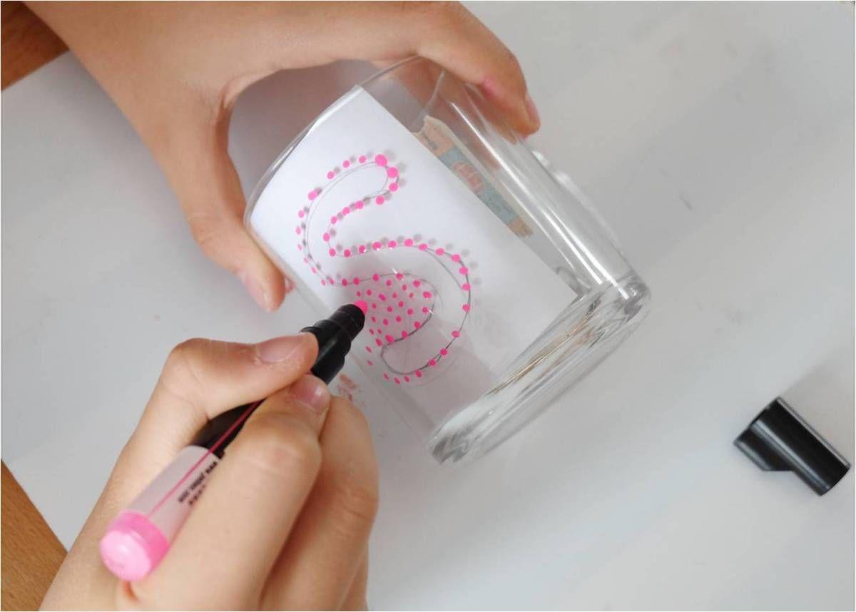 Mug personnalisé en pointillisme, DIY enfants