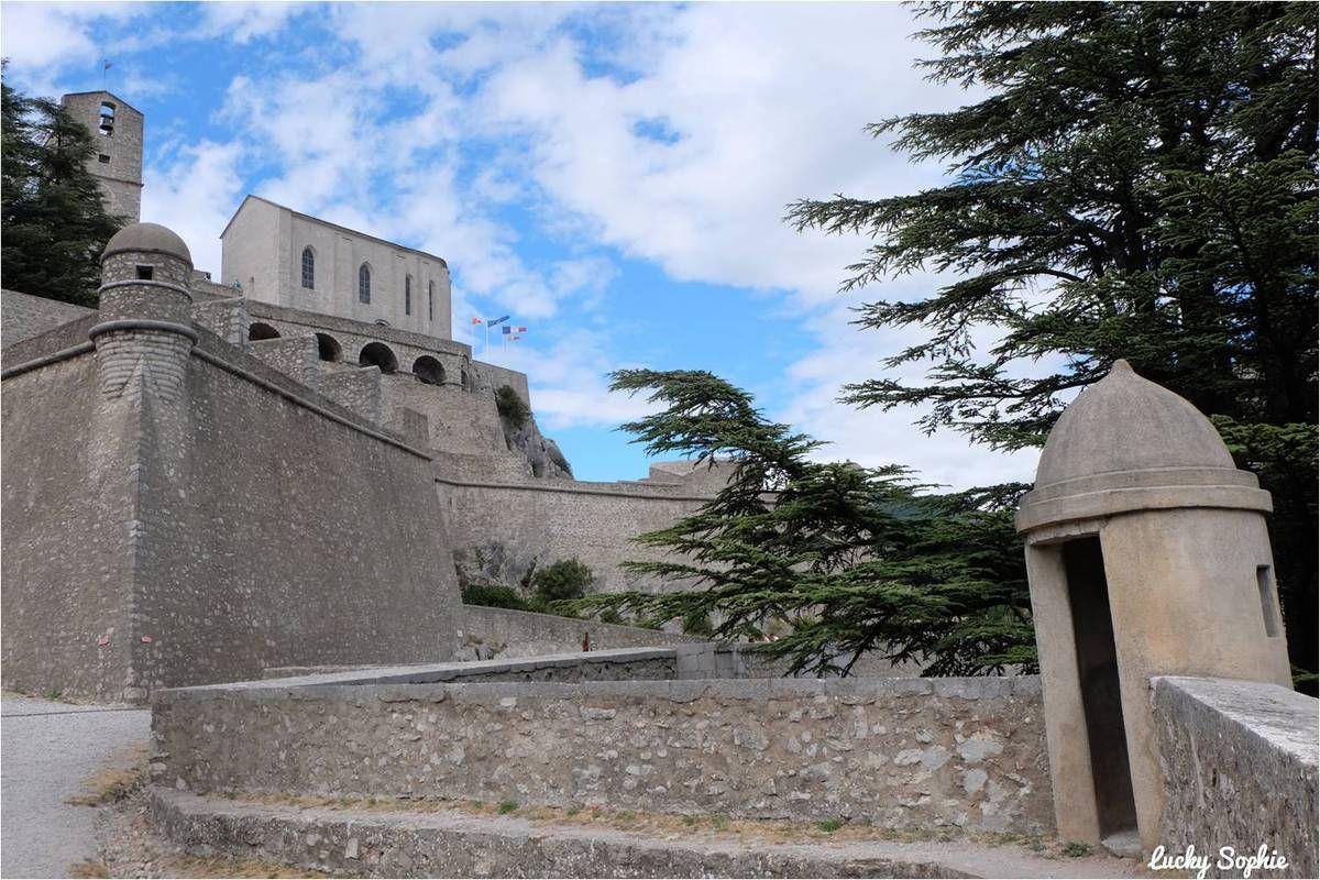 Citadelle de Sisteron : grimper pour la vue !