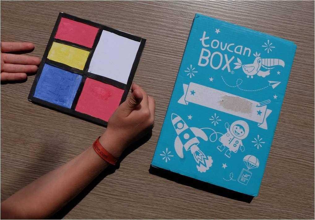 Toucan box, kit créatif enfant (premier gratuit)